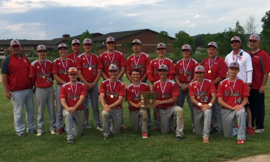 St Clairsville Baseball - Division 2 East District 2 Champions