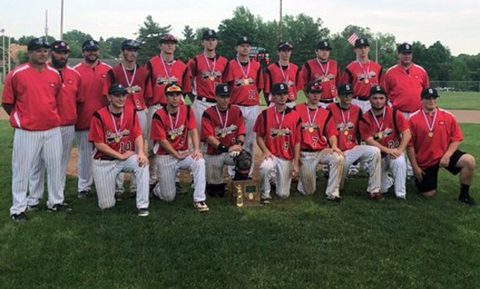 Steubenville Baseball - Division 2 East District 1 Champions