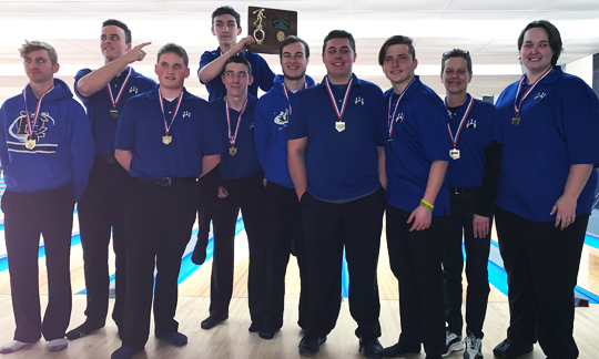 Harrison Central Boys Bowling - Division 2 East District Champions
