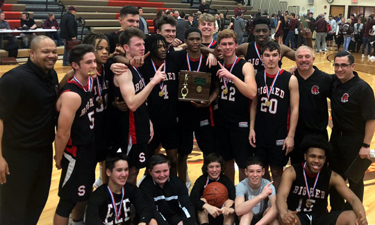 Steubenville Boys Basketball - Division 2 East District 1 Champions