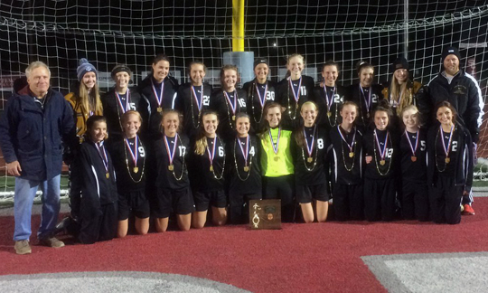 River View Girls Soccer - Division 2 East District 2 Champions