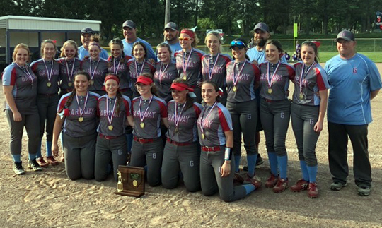 Garaway Softball - Division 3 East District 2 Champions