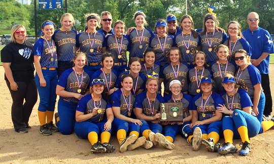 Philo Softball - Division 2 East District 2 Champions