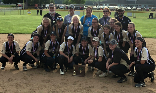 River View Softball - Division 2 East District 1 Champions