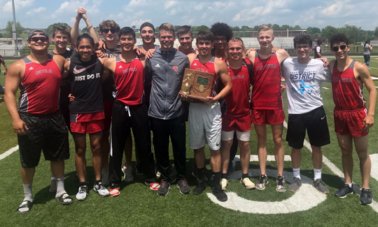 St Clairsville Boys Track - Meadowbrook District Champions
