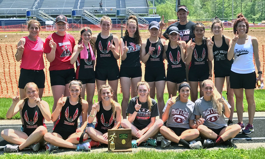 Tuscarawas Valley Girls Track - Division 2 West Holmes District Champions