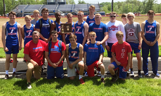 West Holmes Boys Track - Division 2 West Holmes District Champions