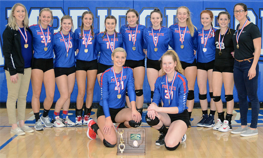 Fort Frye Volleyball - Division IV East District Champions