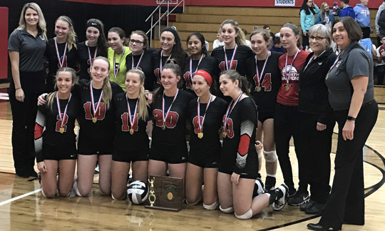 Tuscarawas Valley Volleyball - Division III East 2  District Champions