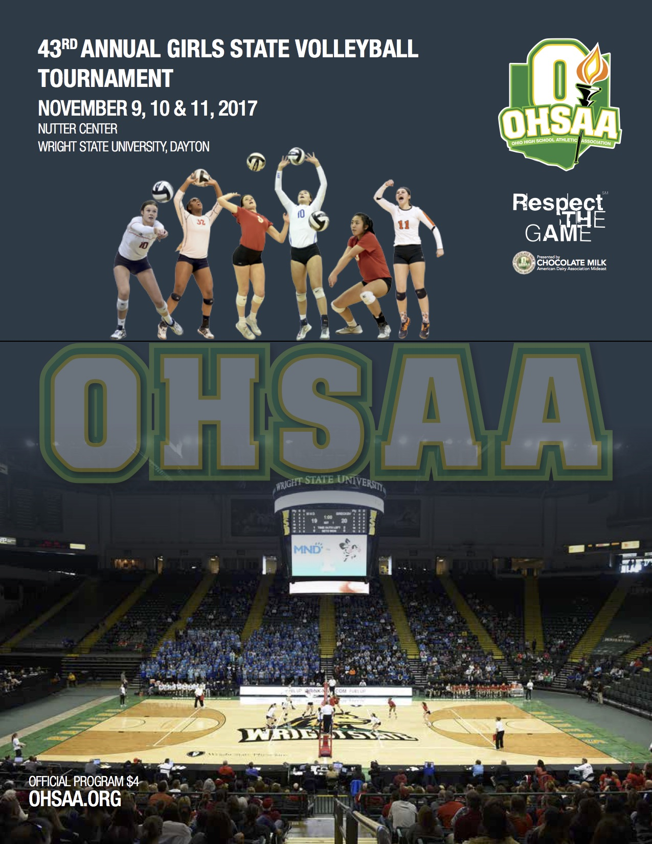 Ohsaa Sports Tournaments Volleyball Volleyball 2017 2017 Ohsaa Volleyball State Tournament Coverage