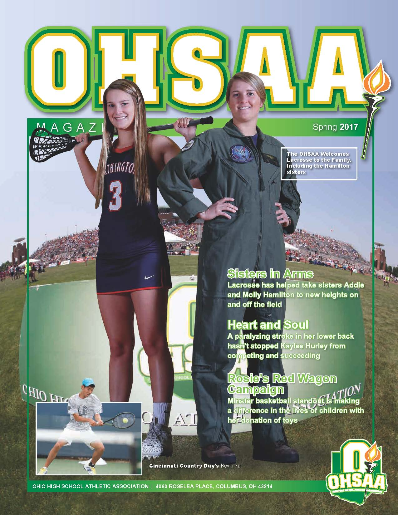 OHSAA Home Magazine Magazine Spring 2017