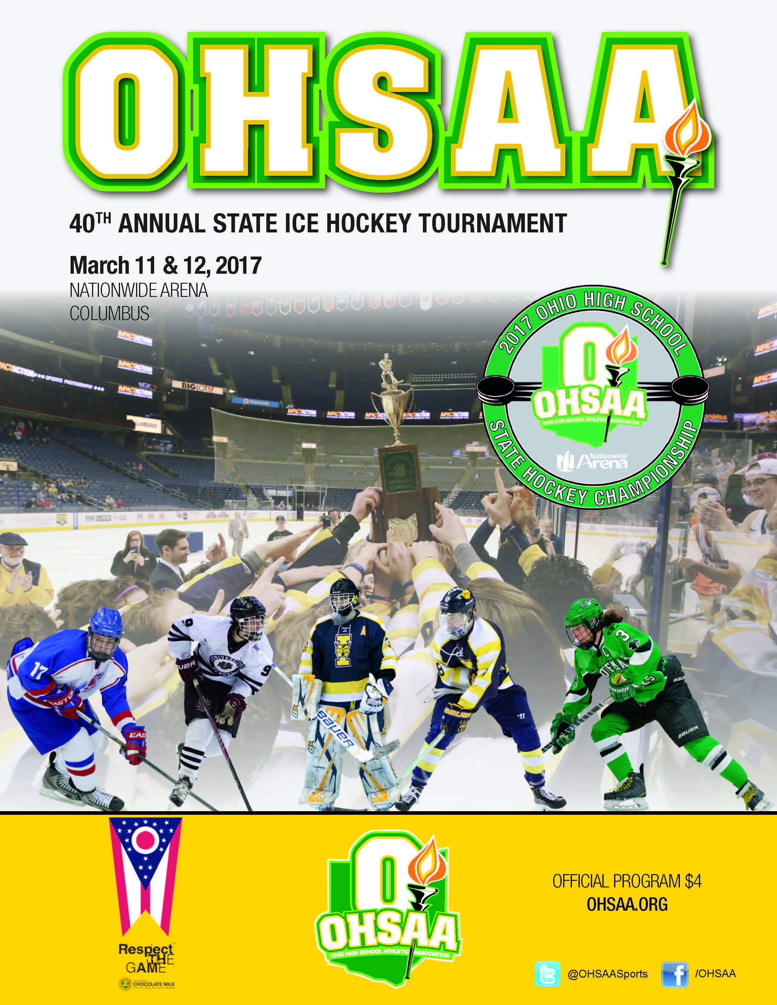 2017 OHSAA Ice Hockey State Tournament Coverage