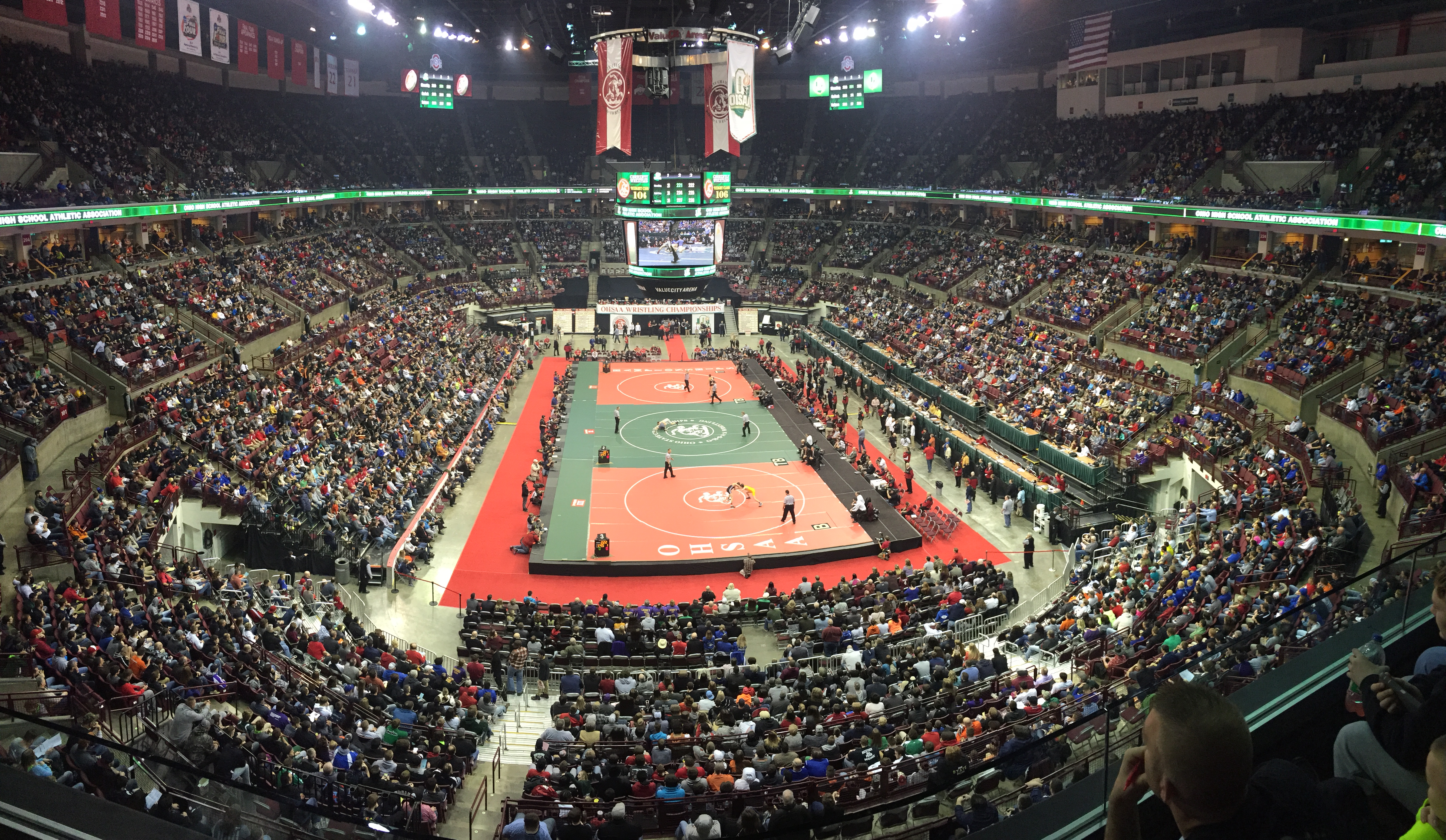 2017 OHSAA Individual Wrestling State Tournament Coverage